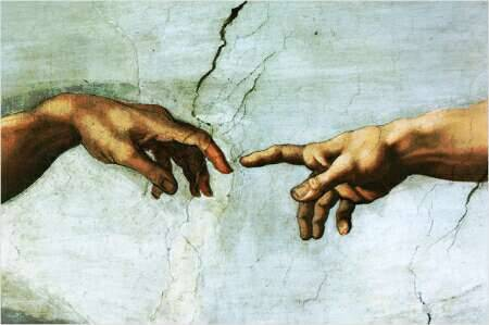 Creation of Adam_Michelangelo_Chapel